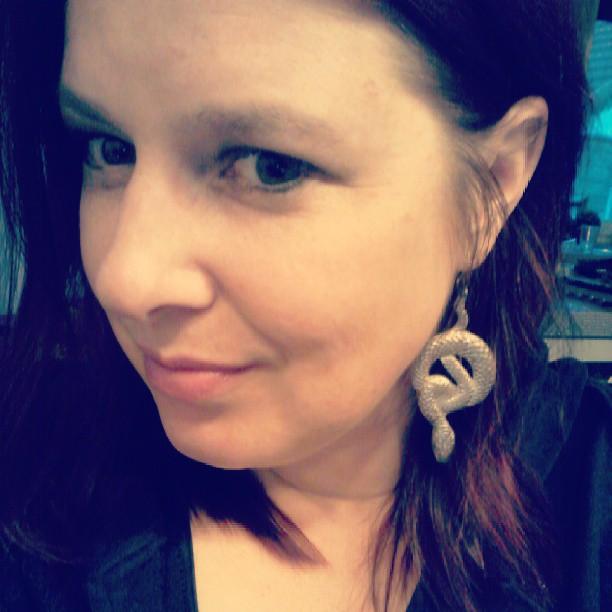 earrings-snakes