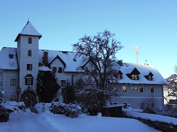 Hotel Schloss Thanegg. Een aanrader!!